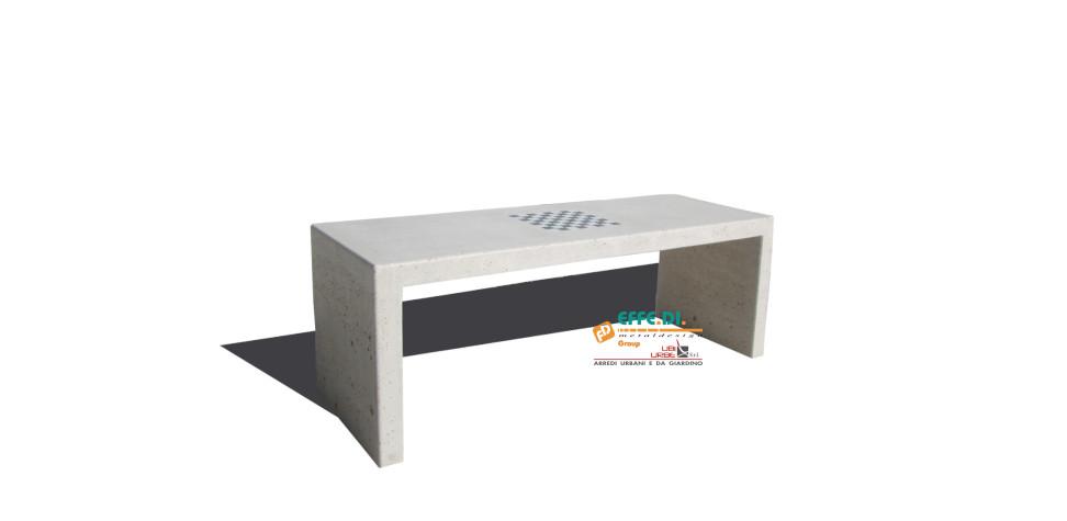 Tavolo in cemento Galapic CA339
