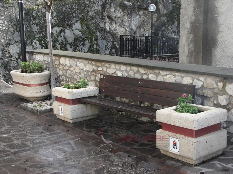 Comune di Ascrea RI arredo urbano Ubiurbe