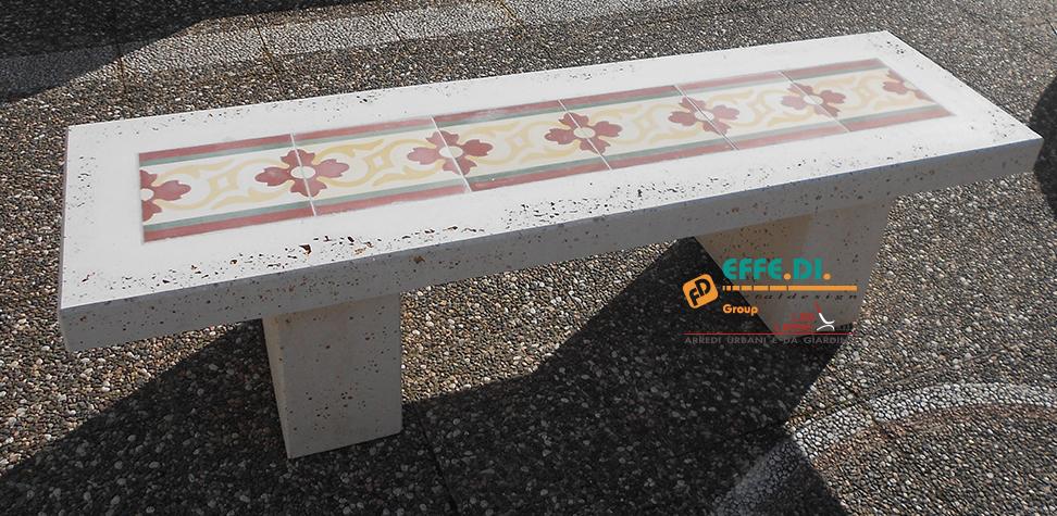 Fioressenza panchina arredo urbano PA533