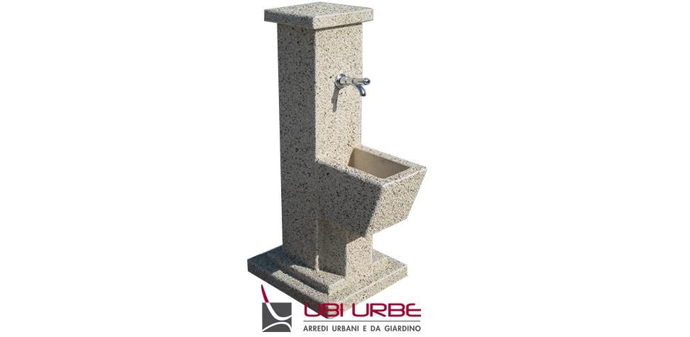 Fontana FSE in cemento graniglia di marmo CA104