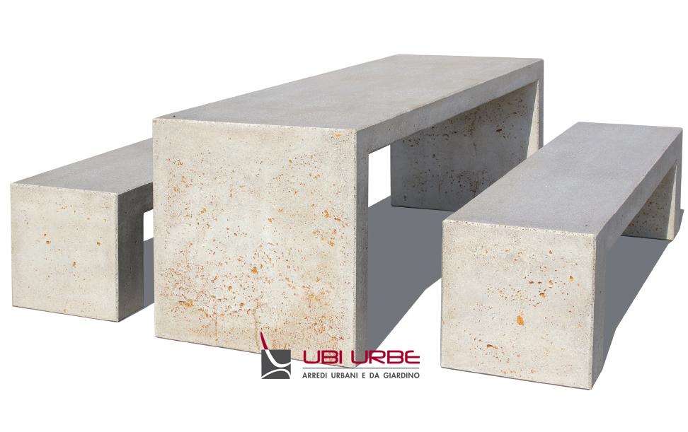 Tavolo In Cemento Da Giardino.Tavoli In Cemento Per Esterni E Giardini Picnic E Galapic