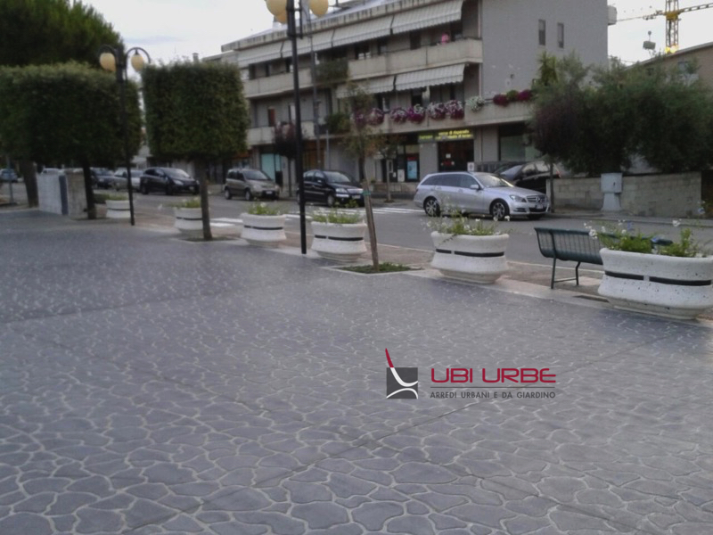 Piazza della Gioventù nel Comune di Santa Maria Imbaro Chieti
