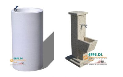 Fontane FSE in cemento vari modelli