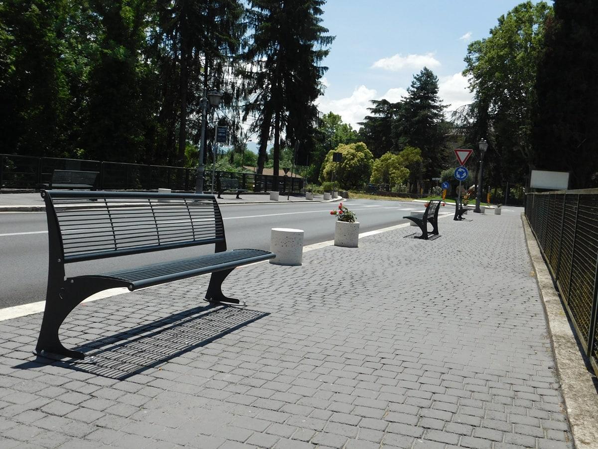 Panettoni in cemento a Genazzano RM