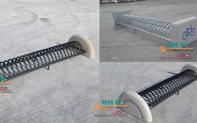 Porta bici in cemento da esterno Vari modelli